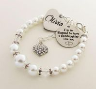 Goddaughter Personalized Name Bracelet - Boxed